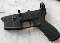 Assembled lower minus buttstock-takedownpin, etc..